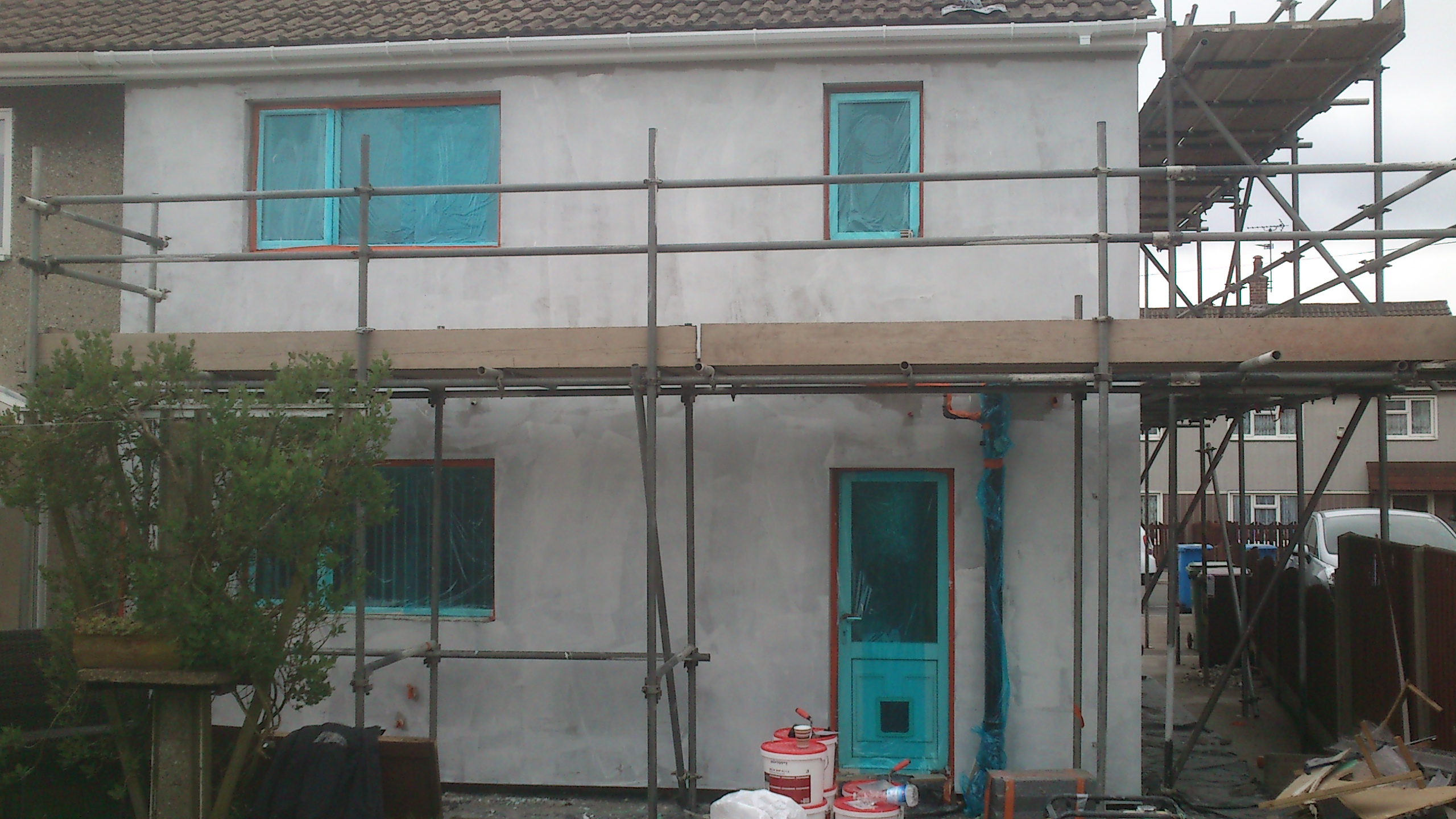 Basecoat Rear Elevation
