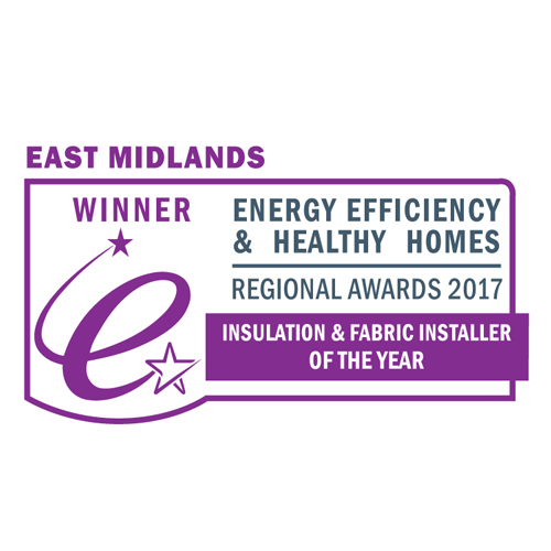 East Midlands Insulation & Fabric Installer of the Year 2017 - Ellipse Energy